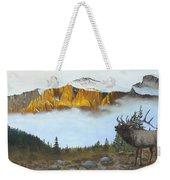 Mountain Sunrise Echoes Weekender Tote Bag