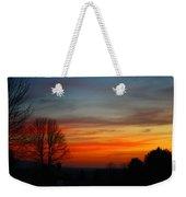 Mountain Sunset 3 Weekender Tote Bag
