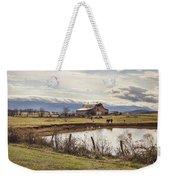 Mountain View Barn Weekender Tote Bag