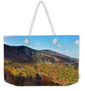 Mountain View From Linn Cove Viaduct Weekender Tote Bag