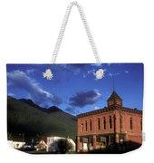 Mountain Village Weekender Tote Bag