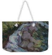 Mountain Waterfall Weekender Tote Bag