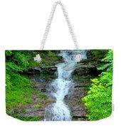 Mountain Waterfall I Weekender Tote Bag