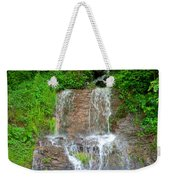 Mountain Waterfall II Weekender Tote Bag
