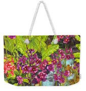 Mountain Wild Flowers Weekender Tote Bag