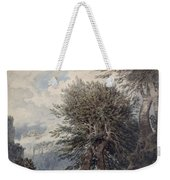 Mountainous Landscape With Beech Trees Weekender Tote Bag