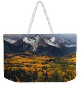 Mountainous Storm Weekender Tote Bag