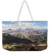 Mountains Along N9, Al Haouz Weekender Tote Bag