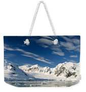 Mountains And Glaciers, Paradise Bay Weekender Tote Bag