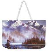 Mountains And Inlet Weekender Tote Bag