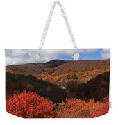 Mountains At Graveyard Fields Weekender Tote Bag