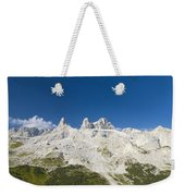 Mountains In The Alps Weekender Tote Bag
