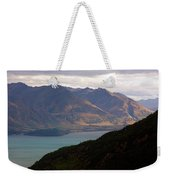 Mountains Meet Lake #4 Weekender Tote Bag