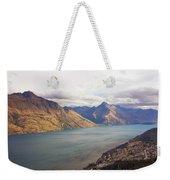 Mountains Meet Lake #5 Weekender Tote Bag