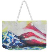 Mountains Of Freedom Two Weekender Tote Bag
