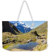 Mountains Of New Zealand Weekender Tote Bag