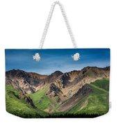 Mountainside Foliage Weekender Tote Bag