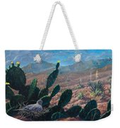 Mourning Dove Desert Sands Weekender Tote Bag