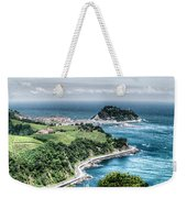 Mouse On The Sea Weekender Tote Bag