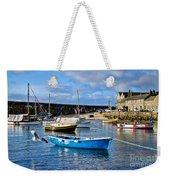 Mousehole Harbour Morning Weekender Tote Bag