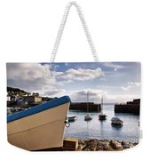 Mousehole Harbour On A May Morning Weekender Tote Bag