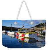 Mousehole Harbour Weekender Tote Bag