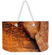 Mouse's Tank Petroglyph Canyon Weekender Tote Bag