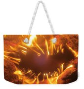 Mouth In The Flame Weekender Tote Bag