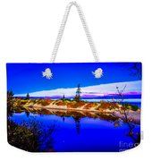 Mouth Of The Two Hearted River Weekender Tote Bag