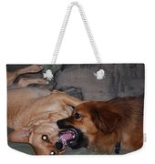 Mouth To Mouth Weekender Tote Bag