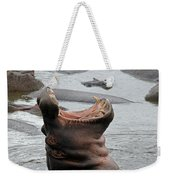Mouth Wide Open Weekender Tote Bag