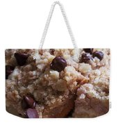 Mouthwatering Crumb Cake Weekender Tote Bag