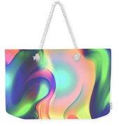 Movement Abstract Ink Digital Painting Weekender Tote Bag