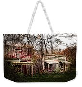 Movie Set Abandoned Western Town Weekender Tote Bag