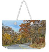 Movin On Down The Road Weekender Tote Bag