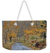 Moving On Down The Road Weekender Tote Bag