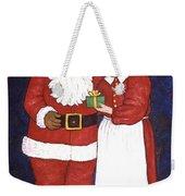 Mr And Mrs Claus Weekender Tote Bag