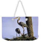 Mr. And Mrs. Heron Weekender Tote Bag