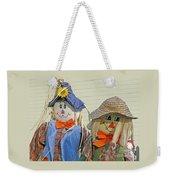 Mr And Mrs Scarecrow Weekender Tote Bag