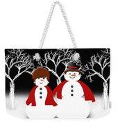 Mr And Mrs Snow 1 Weekender Tote Bag