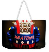 Mr. Atomic Tin Robot Weekender Tote Bag