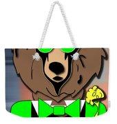 Mr Bear Weekender Tote Bag