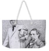 Mr Chicken And Mr Dickens Weekender Tote Bag