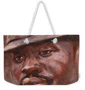 Mr Cool Hat Weekender Tote Bag