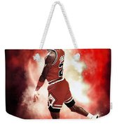 Mr. Michael Jeffrey Jordan Aka Air Jordan Mj Weekender Tote Bag