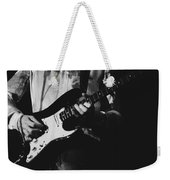 Mick On The Rock And Roll Guitar Weekender Tote Bag