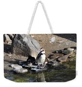 Mr Popper's Penguins Weekender Tote Bag by Bill Cannon