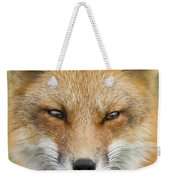 Mr Red Portrait Weekender Tote Bag