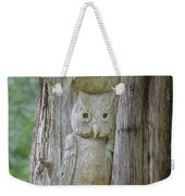 Mr Tingle's Owl Weekender Tote Bag