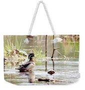 Mr. Wood Duck And Friends Weekender Tote Bag